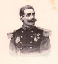 Portrait Général François Charles du Barail Versailles Ministre de la Guerre