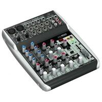 BEHRINGER XENYX Q1002USB MIXER 10 INGRESSI 2 COMPRESSORI PHANTOM POWER +48V INT