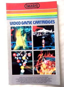 59391 Instruction Insert - Imagic Cartridge Catalog - Atari 2600 / 7800 (1982) 7