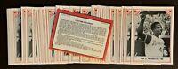 """50) HANK AARON 1983 ASA """"The Hank Aaron Story"""" Card #10 of 12 LOT"""