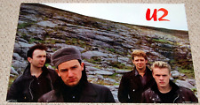 "1985 U2 Poster Vintage Funky 3022 Original 22"" x 34"" Anton Corbijn New Sealed"