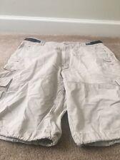 Triple Five NYC Soul Mens Cargo Shorts Sz 38 Beige Clothes