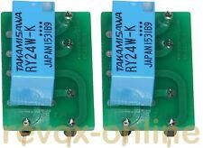 Relais nf2 EB 12 V de rechange, 2 unités pour revox b77 Mk I Oscillator 1.177.240 - .243