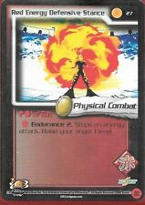Dragonball Z TCG *Gratis Schutzhülle* | Red energy defensive stance #27 | 2002