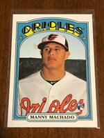 2013 Topps Archives Baseball ROOKIE - Manny Machado RC - BALTIMORE ORIOLES