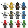 Set of 12 Stk Ninjago Mini Figures Kai Jay Waffen Kinder Building Blocks Toys