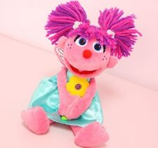 Abby Cadabby Plush  Sesame Street Fairy with Flower Doll Toy
