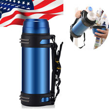 2L large Capacity Outdoor Travel Vacuum Cup Bottle HOT Water Flask Bottle Camp