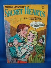 SECRET HEARTS 20 VG F 1954