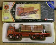 CORGI 09803 BRS ERF V 8 ruote camion piattaforma carico pallet & LTD ED 0003 del 5000