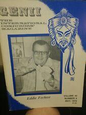 Eddie Fechter Issue 1978 Genii Conjurors Magazine Vol.42 No.5