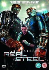 Real Steel 2011 DVD Action Drama Sci Fi Movie Region 2 Brand New