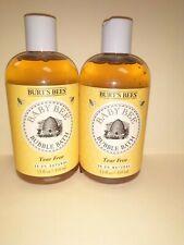 2 Pack of Burt'S Bees No Tears Baby Bubble Bath 12 Oz Each X 3 Free Shipping