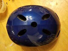 Bike & Skate Helmet - Medium Kids Youth BLUE Helmets R Us Vented NEW US Seller