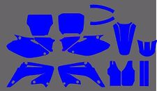 Honda CR 125 250 MX 2002 2003 2004 2005 2006 2007 Graphics Template vector EPS