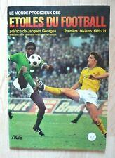 Album AGE étoiles du football complet première division 1970/71 PANINI