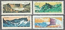 KOREA 1970 used SC#923/26 set, Mt. Paektu, Birthplace of the Revolution.