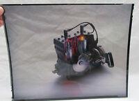 Vintage Ski Doo Everest Engine Snowmobile Photo Transparency Phil Mickelson