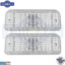 1969 Chevelle Parking Turn Light Lamp Lenses No Trim PR Trim Parts
