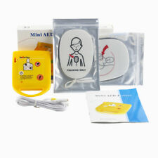 English Voice Prompt Mini AED Defibrillator Universal Trainer First Aid Training