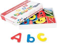 Magnetbuchstaben Holz 52 Stück ABC Alphabet Buchstaben Lernspiel für Kinder Neu