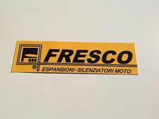 1x FRESCO 2 stroke scooter Exhaust tailpipe Sticker decal
