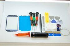 Samsung S4 Blue Screen Glass Repair Set, Glue, Screwdrivers, QUALITY TOOLS