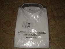 TDC NEW YORK COLLECTION MEN'S WHITE SHIRT SIZE 16-16 1/2  SHORT SLEEVE NWT NICE