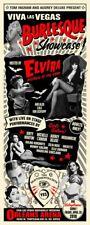 Viva Las Vegas Burlesque Showcase POSTER Elvira Lili Von Schtupp Rob Kruse VLV21
