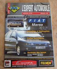 revue technique l'expert automobile l'ea N°370 FIAT MAREA + FICHE TECHNIQUE