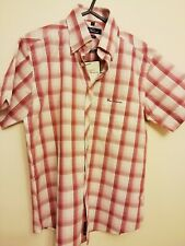 Men's Ben Sherman Check Shirt New With Tags. Size 2 M. Slim Fit. 100% Cotton
