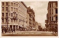 BR75323 corner of argyle street jamaica street real photo   glasgow  scotland