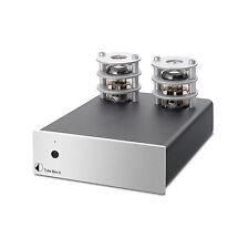 Pro-Ject Tube Box S High End Röhren Phono-Vorverstärker (MM / MC) Silber