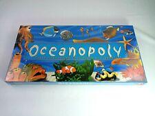 NEW! Oceanopoly Sea Ocean Monopoly Board Game Fish Shark Starfish Marine