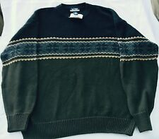 JOS A BANK Sportswear Collection 100% Cotton Heavy Sweater XL  NEW