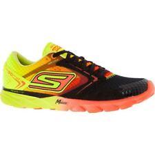 New Men's Black & Yellow Run Speed Skechers Run Speed Trainers UK Size 6