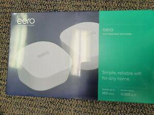 Brand New Amazon eero Dual-Band Mesh WiFi System J010211 New 2 pack
