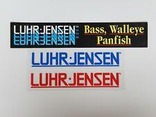 Luhr Jensen Stickers Fishing Man Cave