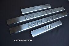 Einstiegsleisten VW Sharan II Bj ab 2010 > Logo Exclusive aus Edelstahl