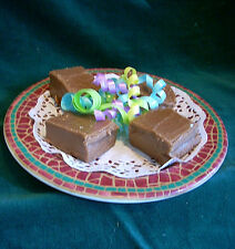 Delightfully Delicious  IRISH CREAM FUDGE Made with Bailey's 1 lb  Gift Boxed