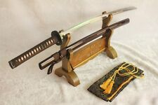 Handmade Japanese Samurai Sword CHAIRO-RAI Katana Full Tang & Full Customization