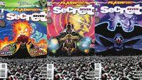 Flashpoint: Secret Seven #1 - 3 Comic Book SET - DC
