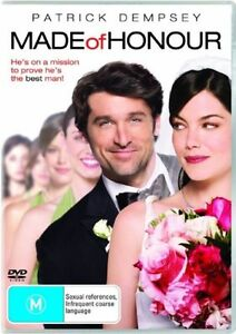 Made of Honour (DVD, 2008) Terrific Condition / Patrick Dempsey