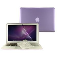 "3 in 1 Crystal PURPLE Case  for Macbook Air 13"" A1369 + Key Cover + LCD Screen"