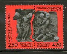 STAMP / TIMBRE FRANCE NEUF  N° 2813A ** EN PAIRE LA RESISTANCE