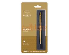 Parker Classic Gold Trim GT Retractable Ballpoint Pen Blue Ink