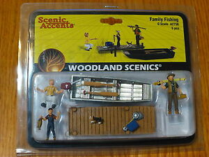 Woodland Scenics O #2756 Family Fishing