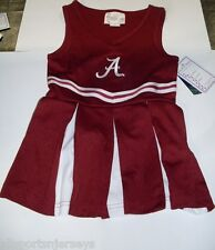 NCAA NWT INFANT CHEER DRESS ONESIE - ALABAMA - 3T