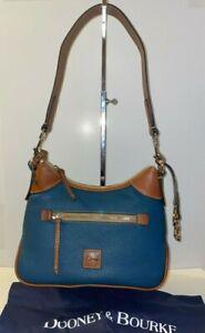 Dooney & Bourke Pebbled Grain Small Hobo Color Jeans BPEBC1956JEKR NWT