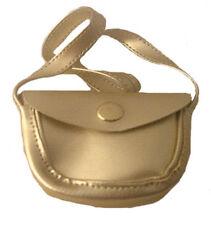 """Gold Shoulder Bag Fits 18"""" American Girl Dolls"""